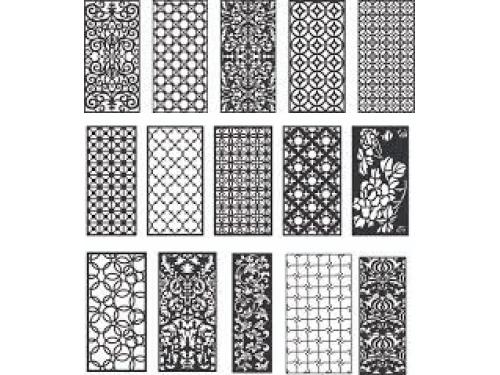 Các mẫu CNC vách ngăn