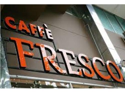 Chữ nổi Mica bảng hiệu cafe Fresco